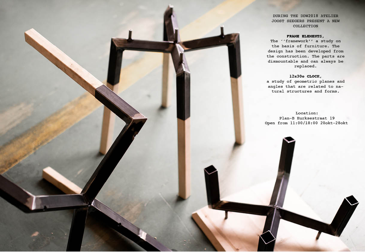 New collection at the Dutch Design Week 18
