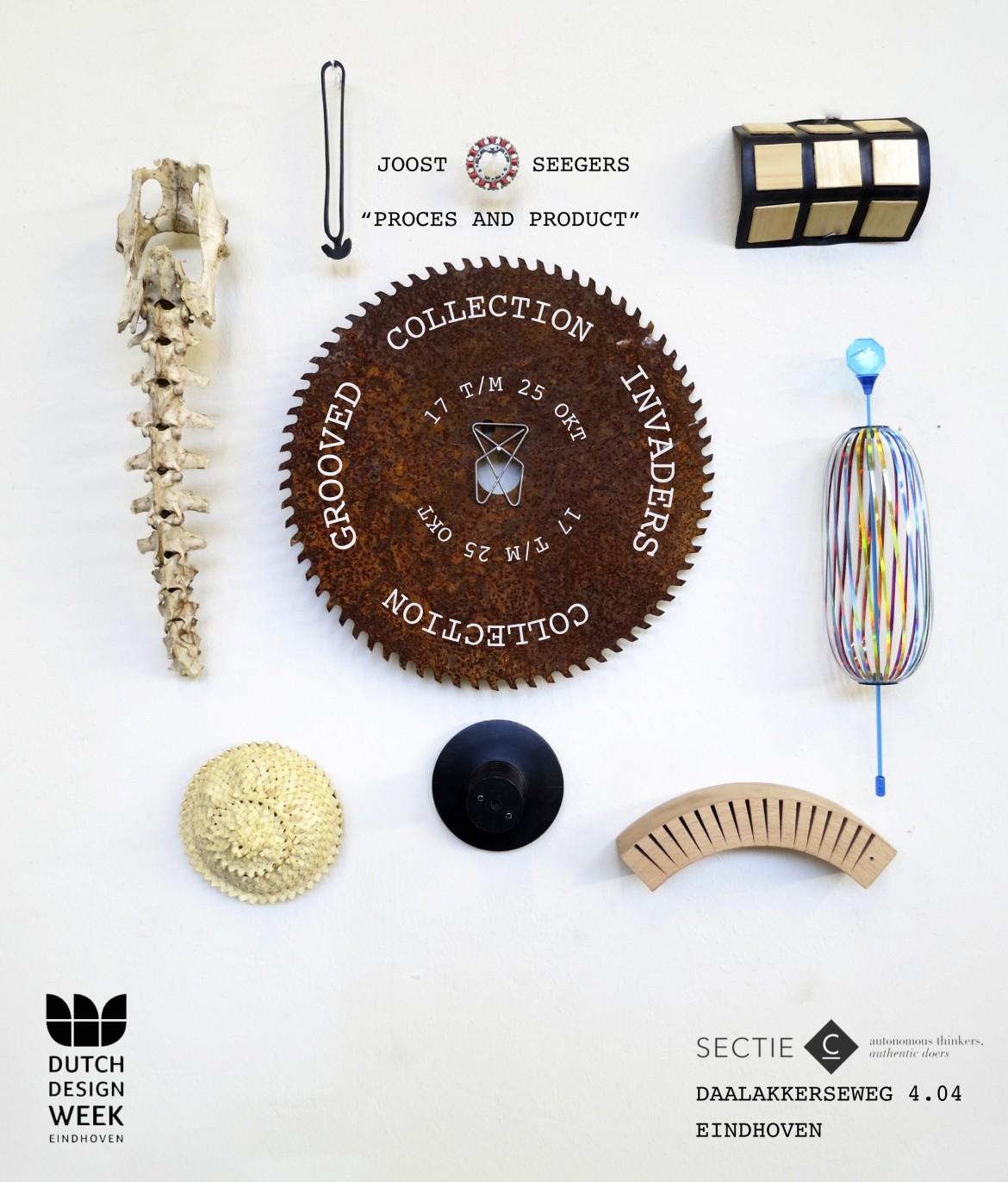 Presentation of new work at the Dutch Design Week 2015